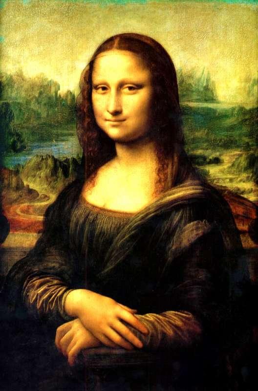 Картина по номерам 40x50 Мона Лиза